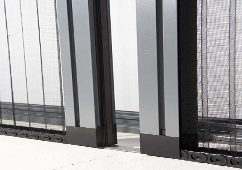 Aluminios Técnicos Cebreros mosquitera plisada lateral