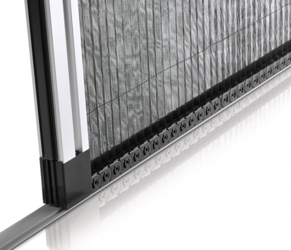 Aluminios Técnicos Cebreros mosquitera plisada