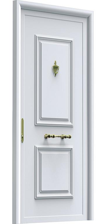 Aluminios Técnicos Cebreros Puerta IP13 Ciega Blanca Llightbox