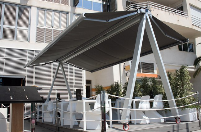 Aluminios Técnicos Cebreros Toldo Movible