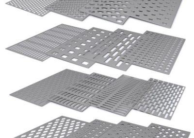 Aluminios Técnicos Cebreros Chapas perforadas