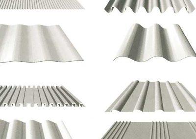 Aluminios Técnicos Cebreros Chapas onduladas